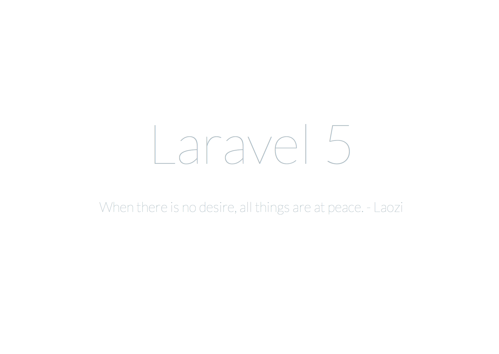 Upgrading from Laravel 4 to Laravel 5 | MattStauffer com