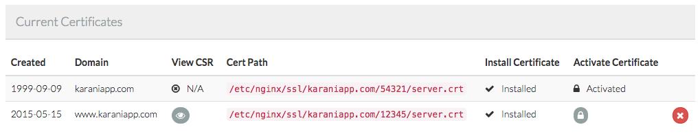 Find Forge SSL Cert Number  - find forge ssl cert number - Applying an SSL cert to a Laravel Forge site's www. domain