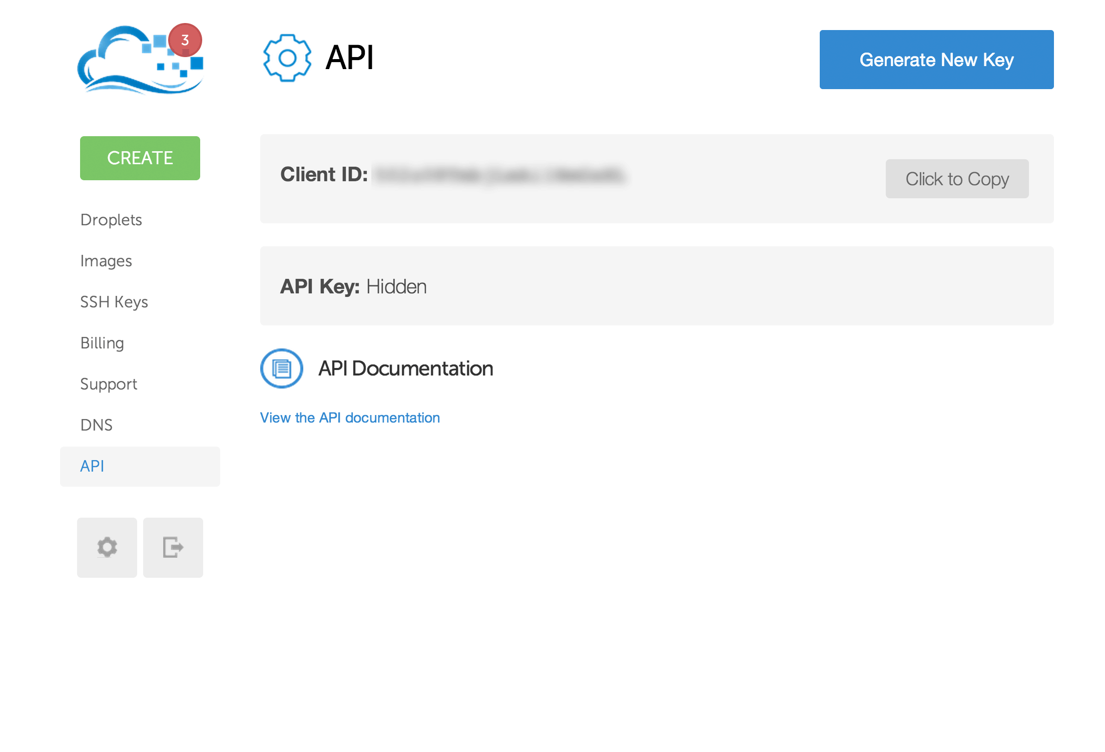 DigitalOcean API