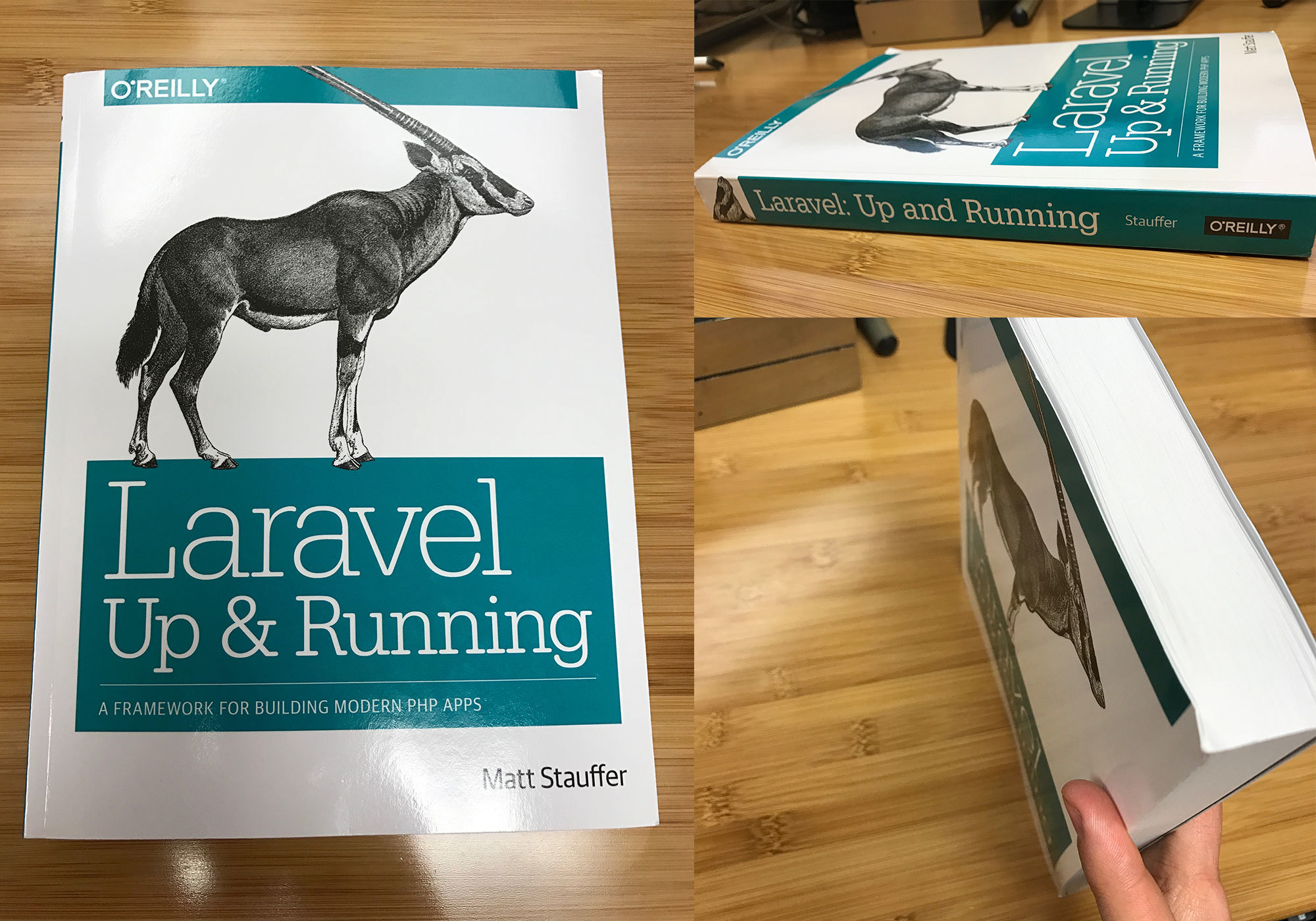 Cover shots  - lur cover shots - Laravel: Up & Running is launched and available for order!