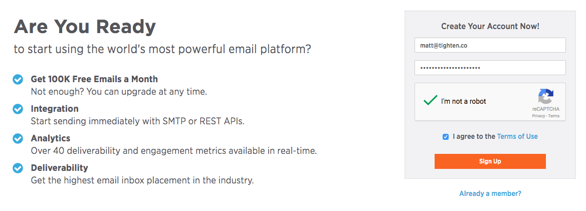 Using SparkPost for Transactional emails with Laravel