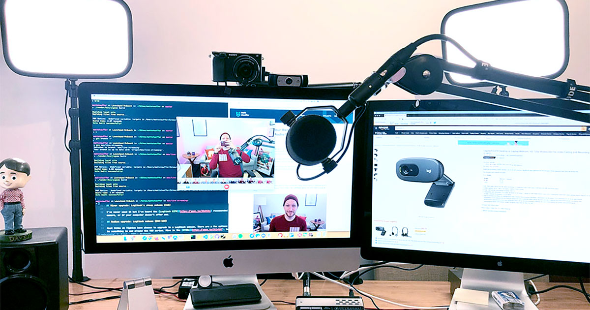 Setting Up Your Webcam Lights And Audio For Remote Work